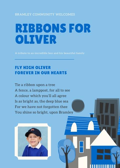 Blue Ribbons for Oliver