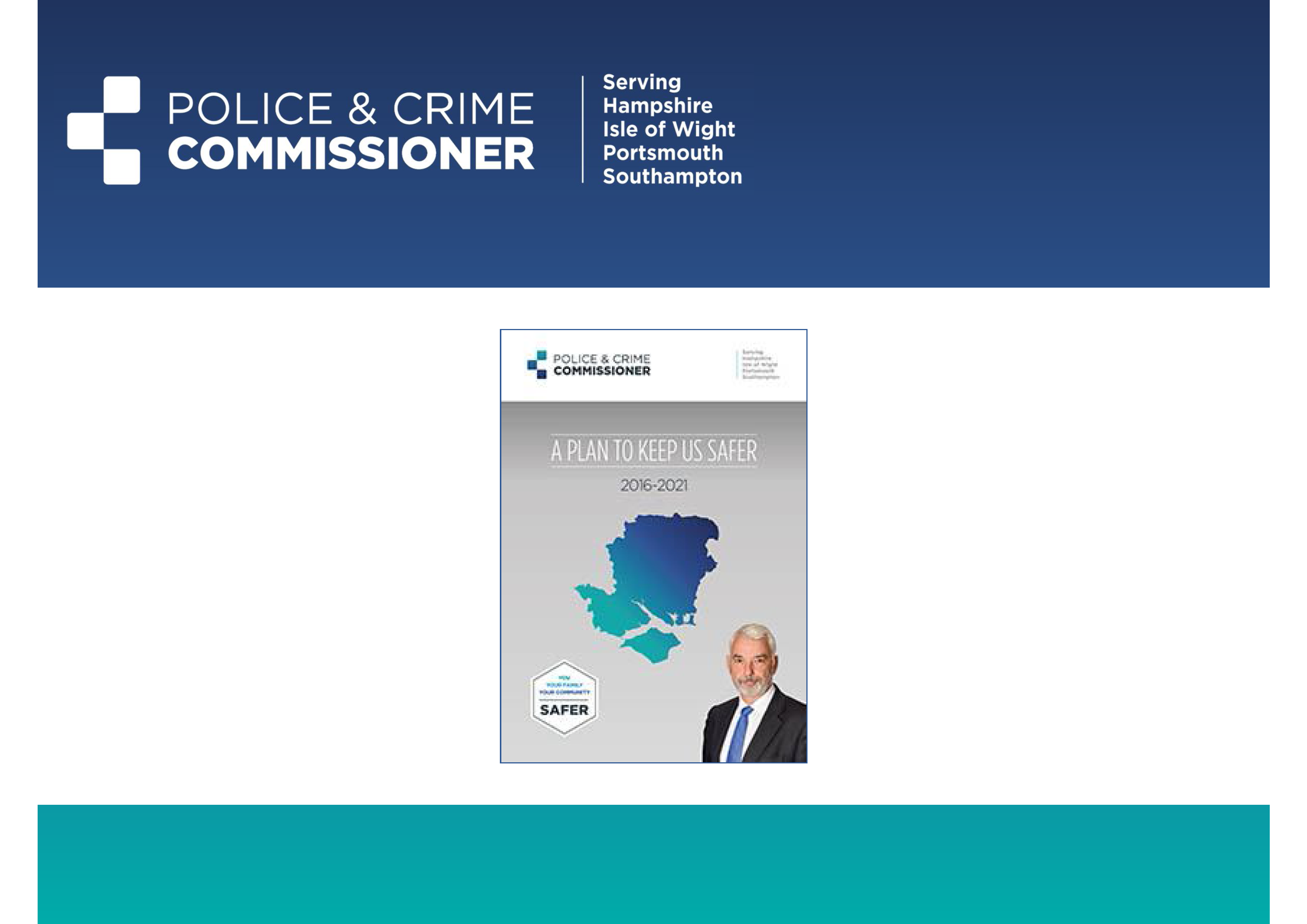 Front Page of Presentation by Michael Lane PCC