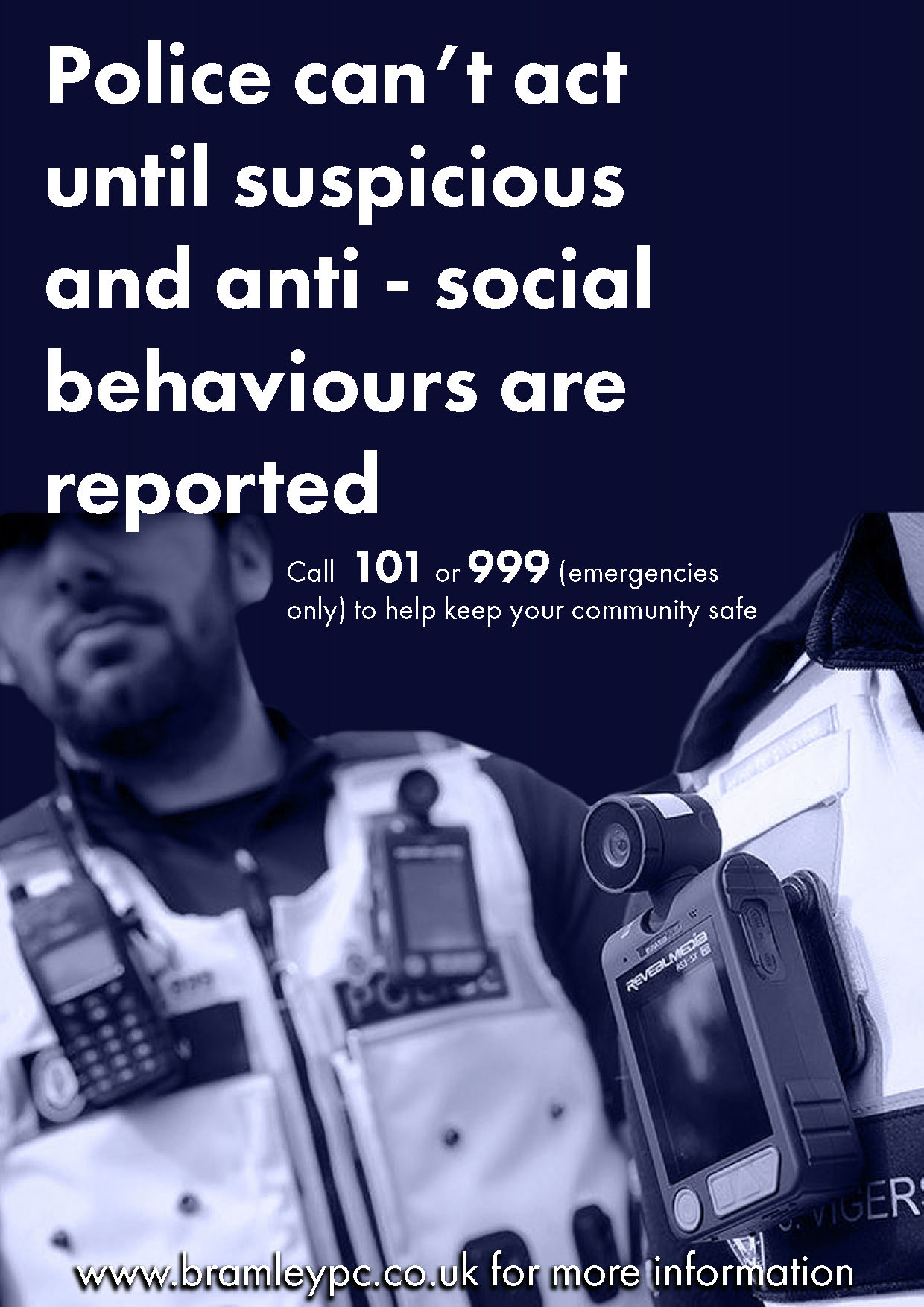 Bramley Parish Council - Report suspicious and anti-social behaviour